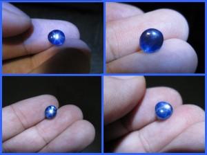 blue star sapphire carat 2 92 ct clarity vvs colour blue near to royal