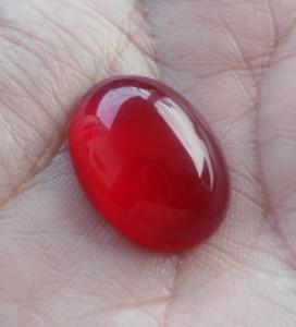 Batu permata akik darah asli size besar