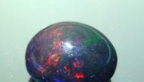 Pesona Batu Akik Black Oval
