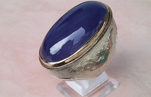 10 Khasiat Batu Akik Lavender Yang Bagus