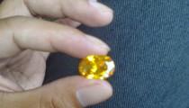 Jenis Batu Akik Borneo Kuning Dari Kalimantan