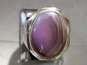 Batu Akik Lavender Garut