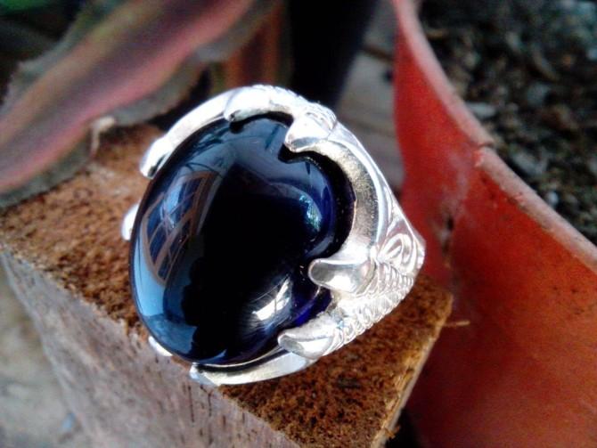 Kenali Keaslian Batu Akik Blue Borneo Anda