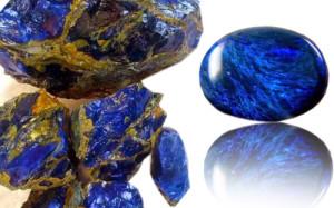 Mengenal Batu Akik Blue Opal, Si Biru Memukau