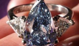 Batu Berlian Paling Mahal Di Dunia - Cincin Berlian Biru Termahal