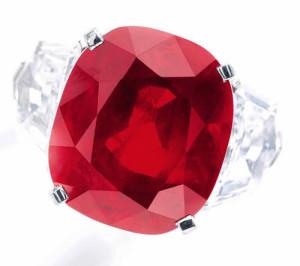 Sunrise Ruby' Poised to Break Price Record at Sotheby's Geneva