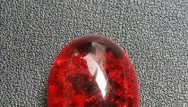 Batu Akik Pecah Seribu Merah Seribu
