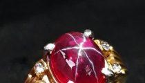 Batu Cincin American Star Crystal