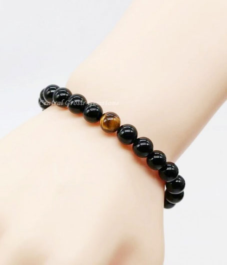 Natural Black Onyx Tiger Eye