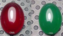 Batu Akik Natural Red Baron – Green Chalcedony – Sunkist – Lavender